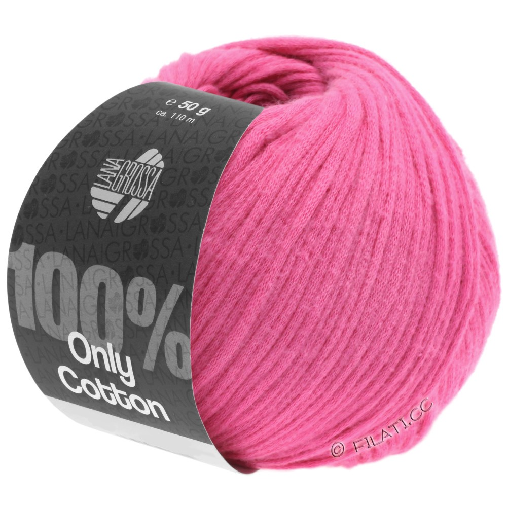 Lana Grossa ONLY COTTON | 09-rose vif