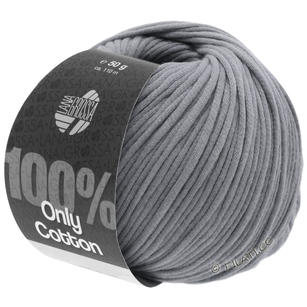 Lana Grossa ONLY COTTON | 12-gris foncé