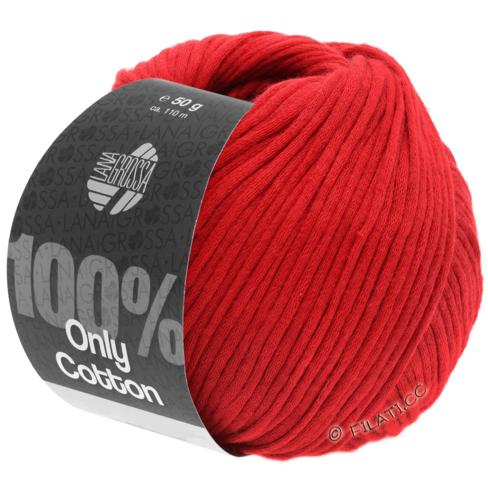 Lana Grossa ONLY COTTON | 17-rouge