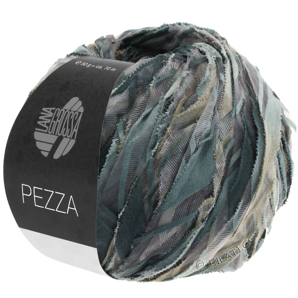 Lana Grossa PEZZA | 01-gris/gris clair/beige gris/anthracite