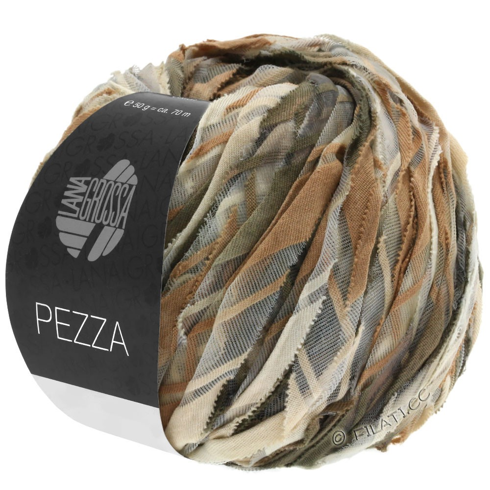 Lana Grossa PEZZA | 08-beige/chameau/taupe/brun gris
