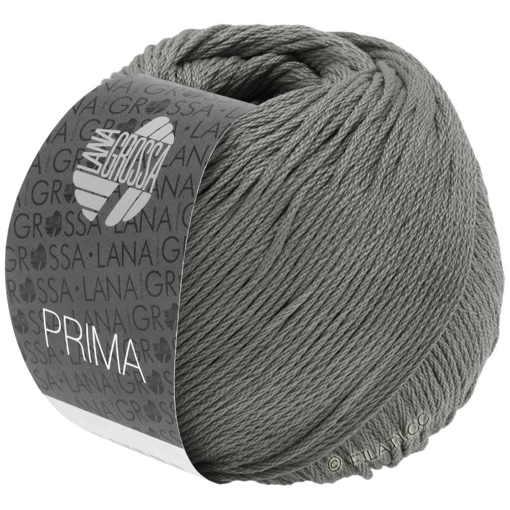 Lana Grossa PRIMA | 08-gris foncé