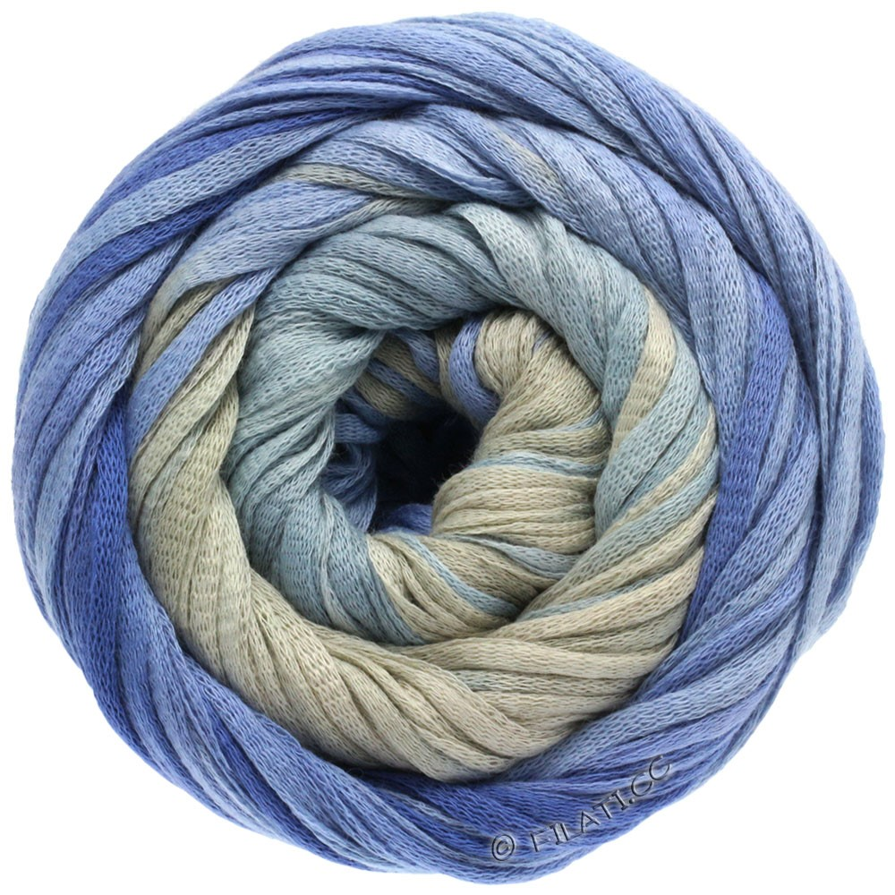 Lana Grossa PRIMAVERA | 103-bleu gris/bleu comme violettes/gris pierre
