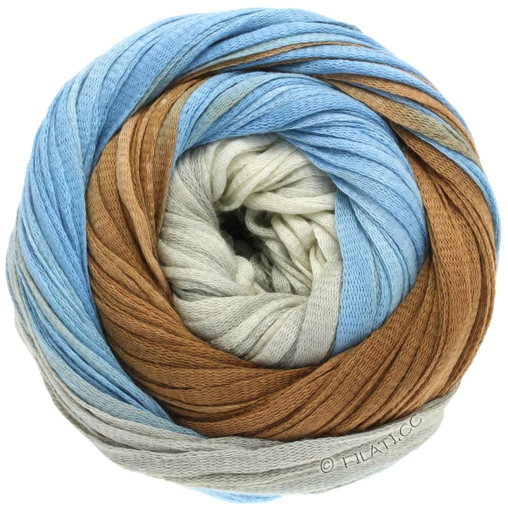 Lana Grossa PRIMAVERA | 112-brun gris/jean/gris béton/écru