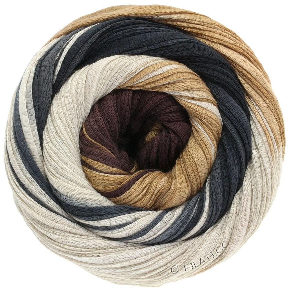 Lana Grossa PRIMAVERA | 118-brun pâle/beige clair/brun noir