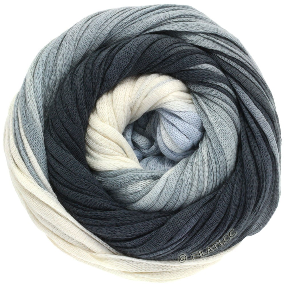 Lana Grossa PRIMAVERA | 119-gris clair/gris platine/anthracite/noir