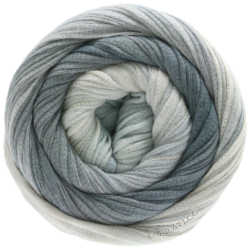 Lana Grossa PRIMAVERA | 205-blanc gris/gris argent/gris