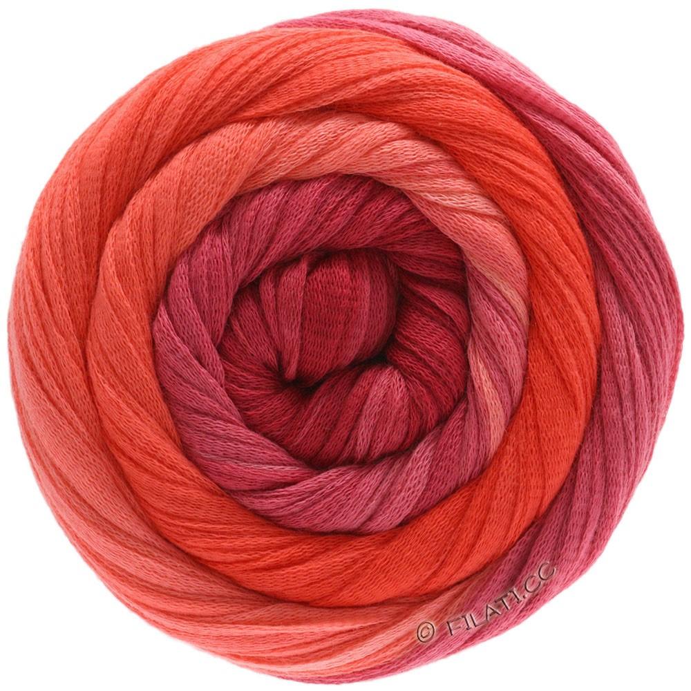 Lana Grossa PRIMAVERA | 206-saumon/corail/rouge