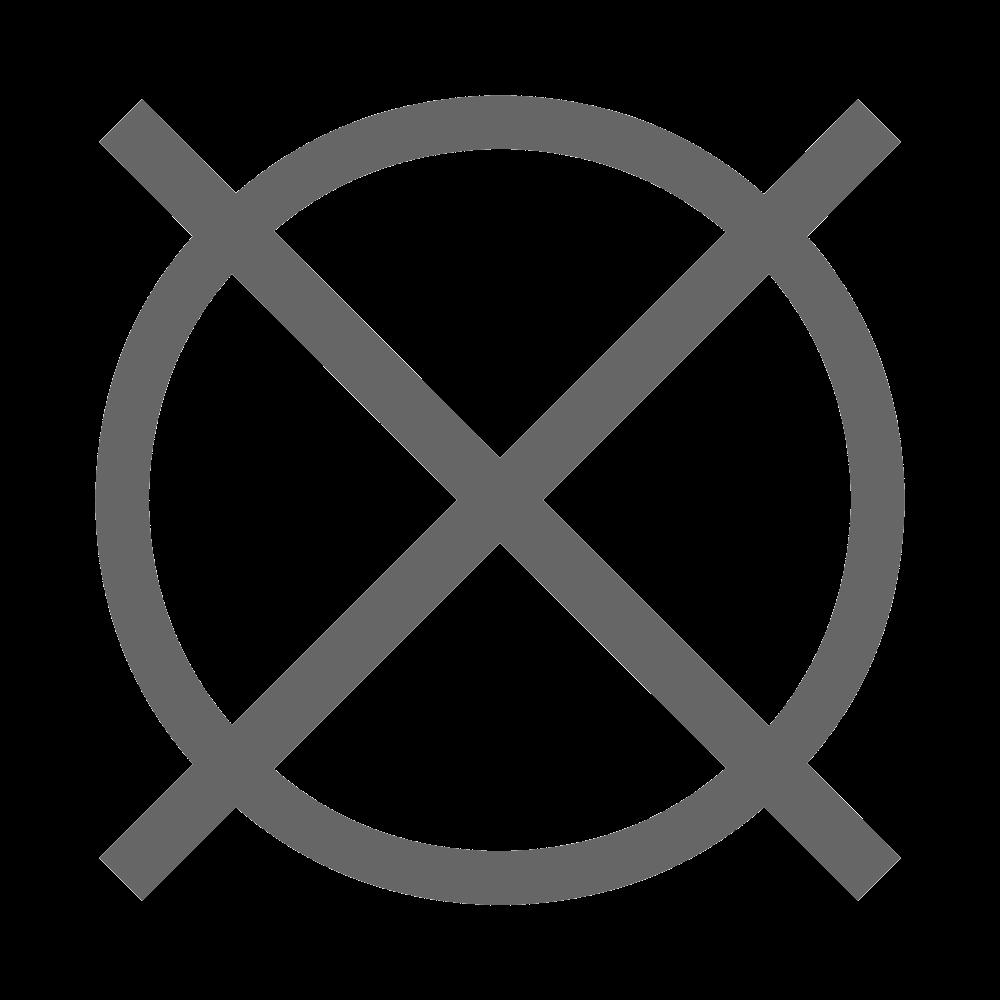 Nettoyage à sec interdit