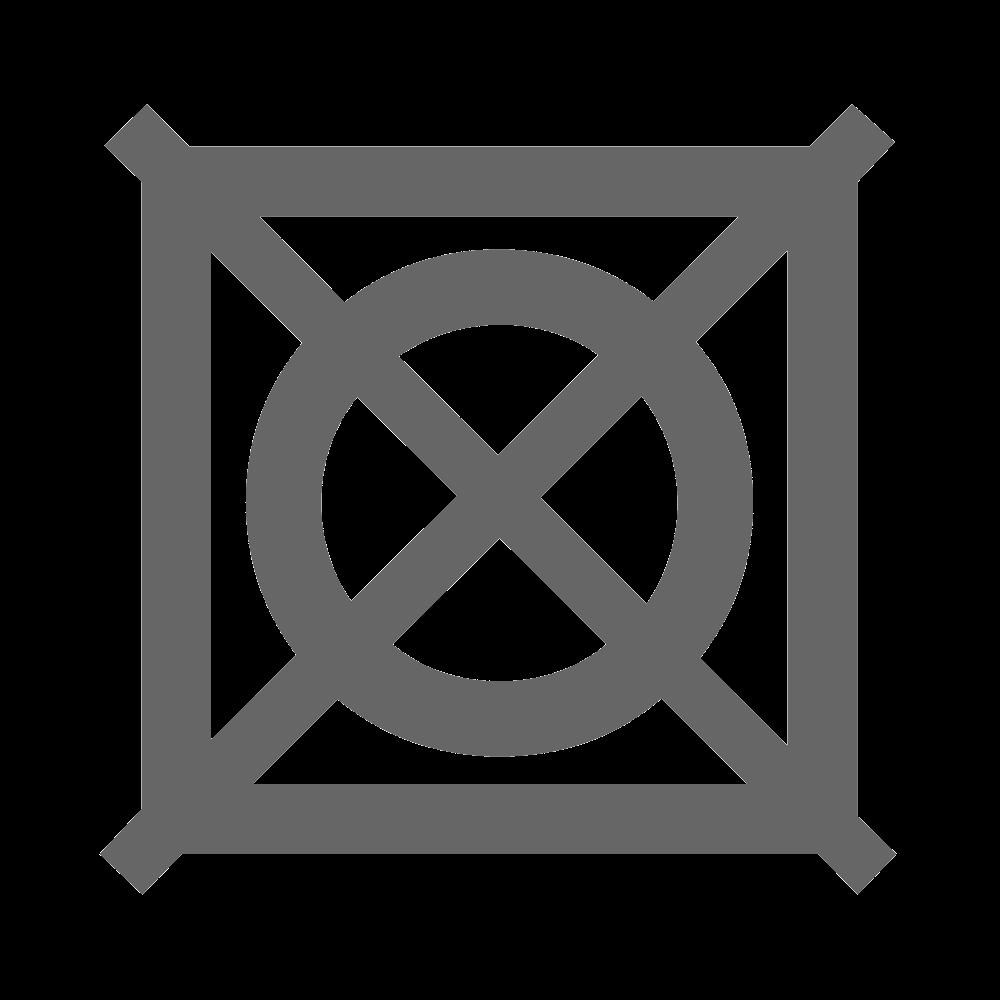 Séchage en tambour interdit