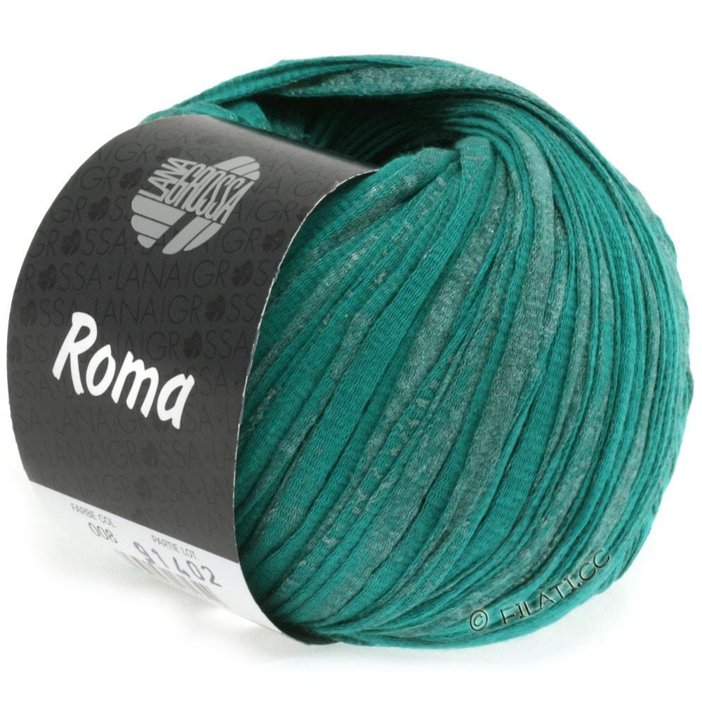 Lana Grossa ROMA | 008-vert opale/argent