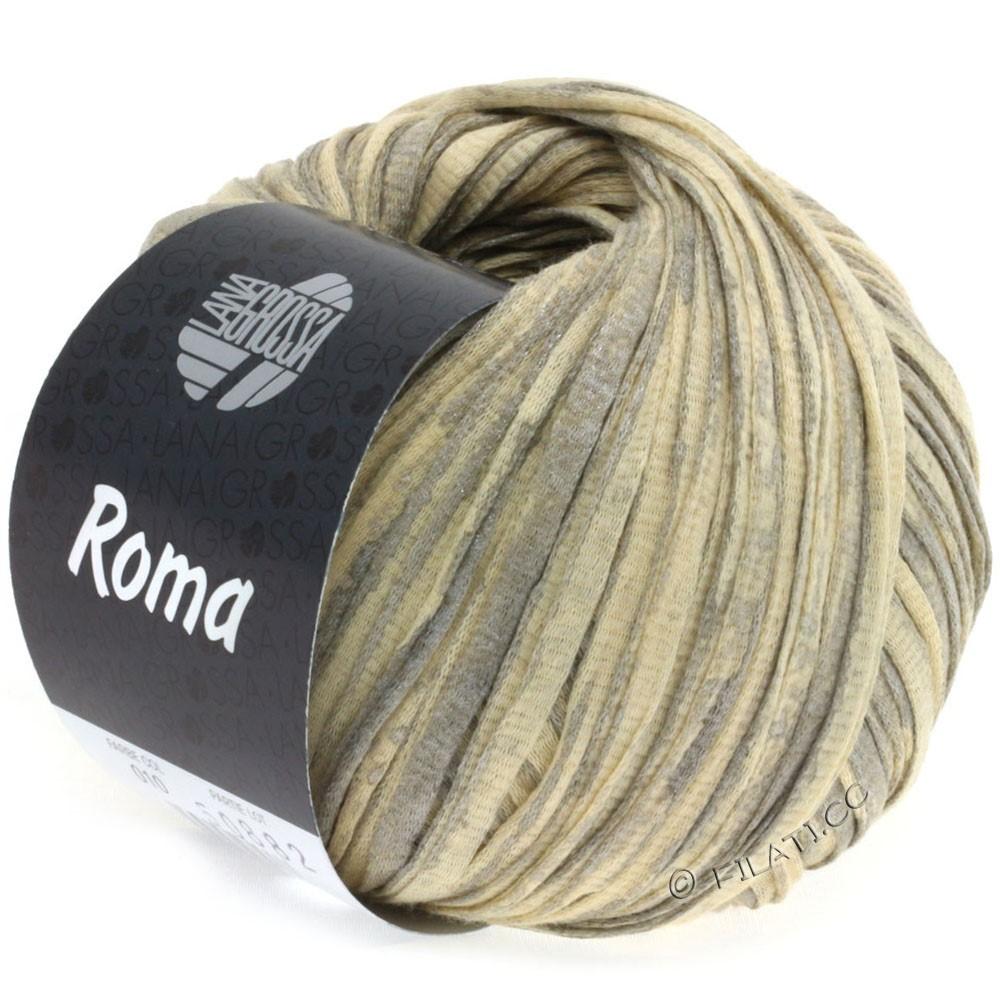 Lana Grossa ROMA | 010-beige/argent