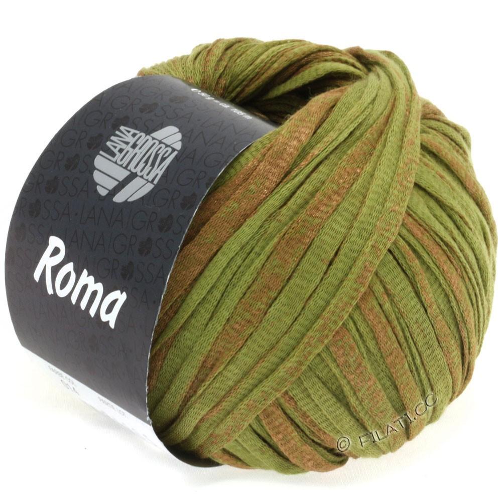 Lana Grossa ROMA | 014-olive/cuivre