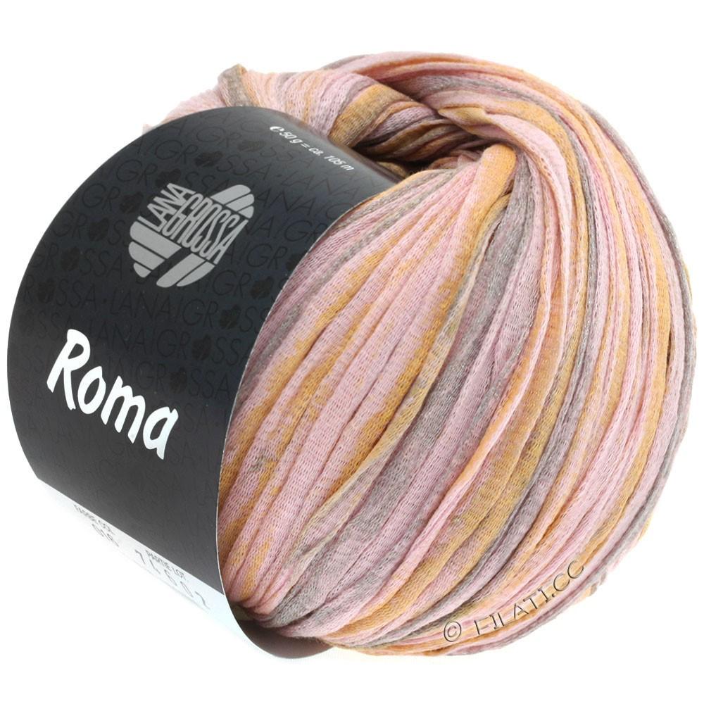 Lana Grossa ROMA | 016-rose/or/argent