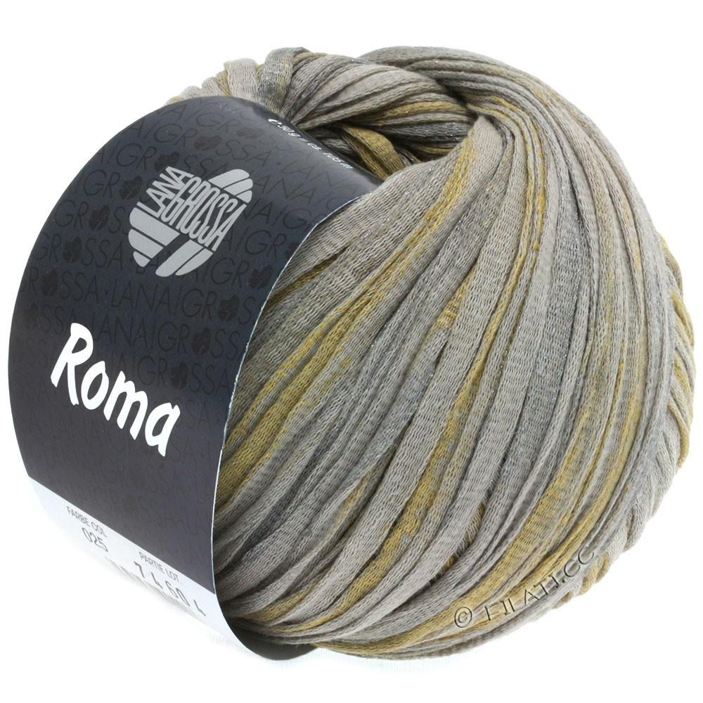 Lana Grossa ROMA | 025-beige/argent/or