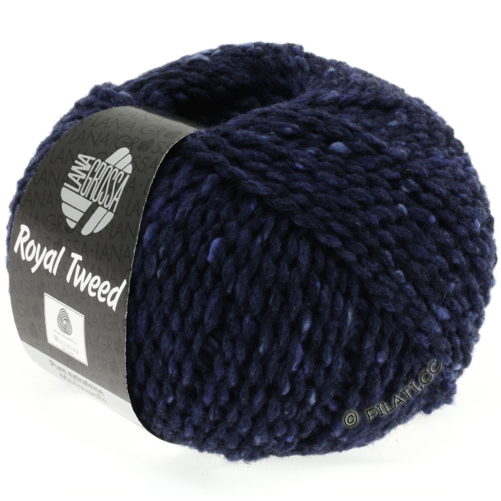 Lana Grossa ROYAL TWEED | 11-marine chiné