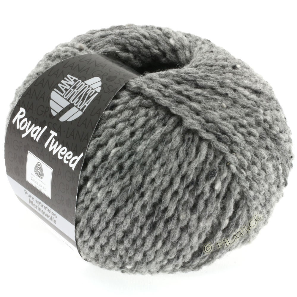Lana Grossa ROYAL TWEED | 14-gris chiné