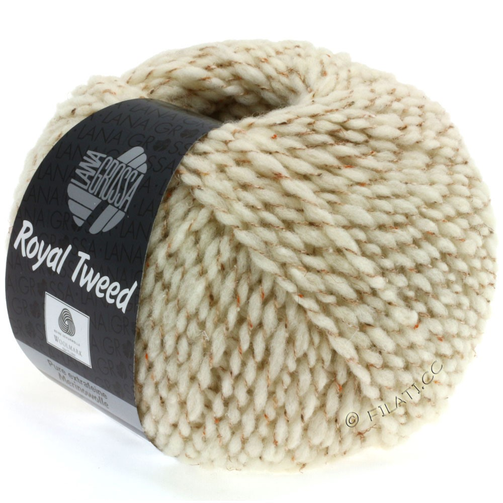 Lana Grossa ROYAL TWEED | 29-nature chiné