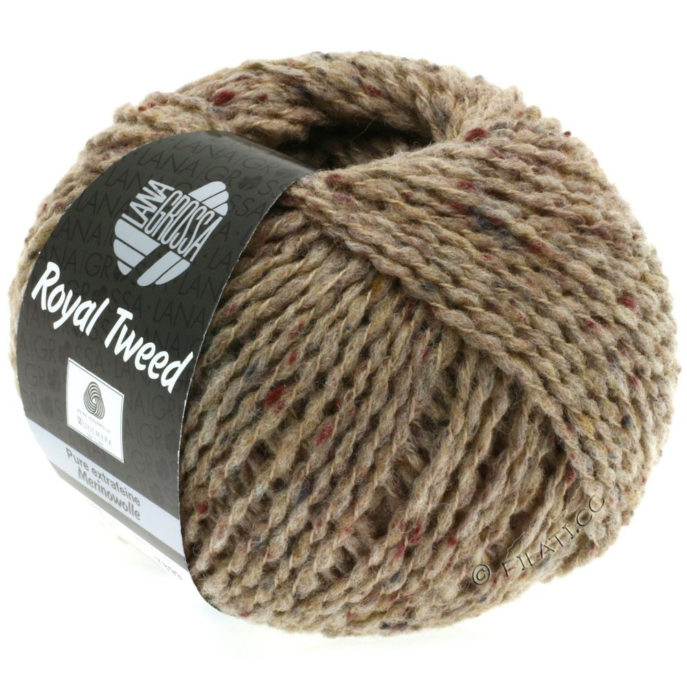 Lana Grossa ROYAL TWEED | 59-taupe