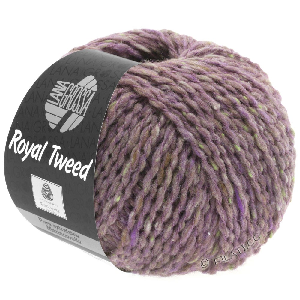 Lana Grossa ROYAL TWEED | 65-lilas/grège