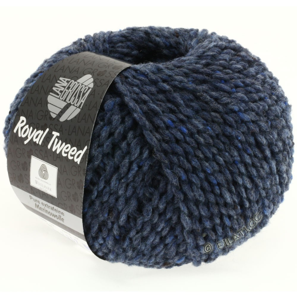 Lana Grossa ROYAL TWEED | 72-jean chiné