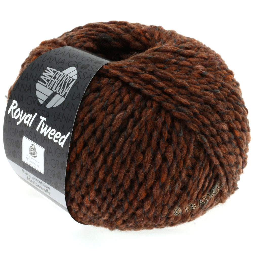 Lana Grossa ROYAL TWEED | 78-cannelle chiné