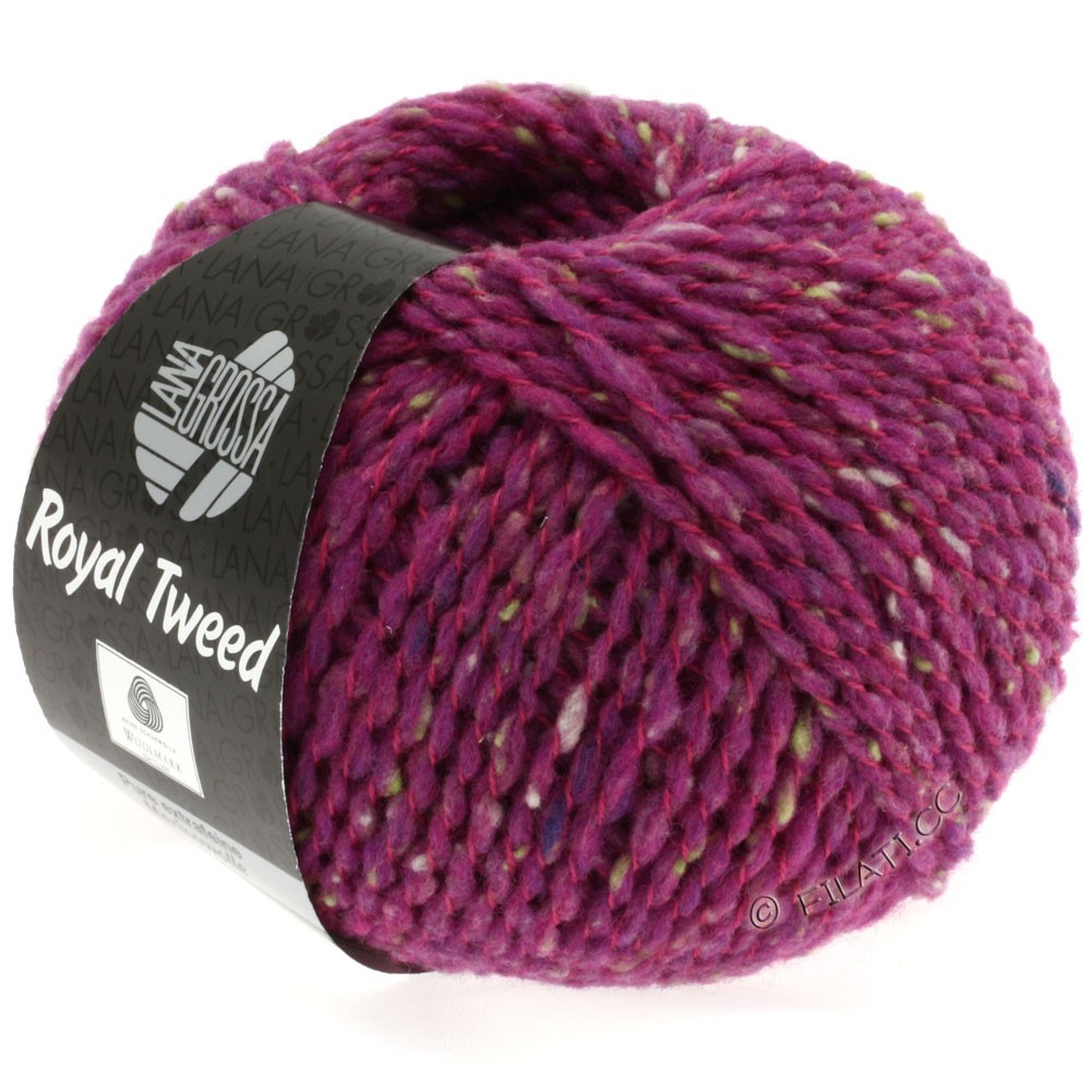 Lana Grossa ROYAL TWEED | 79-cyclamen chiné