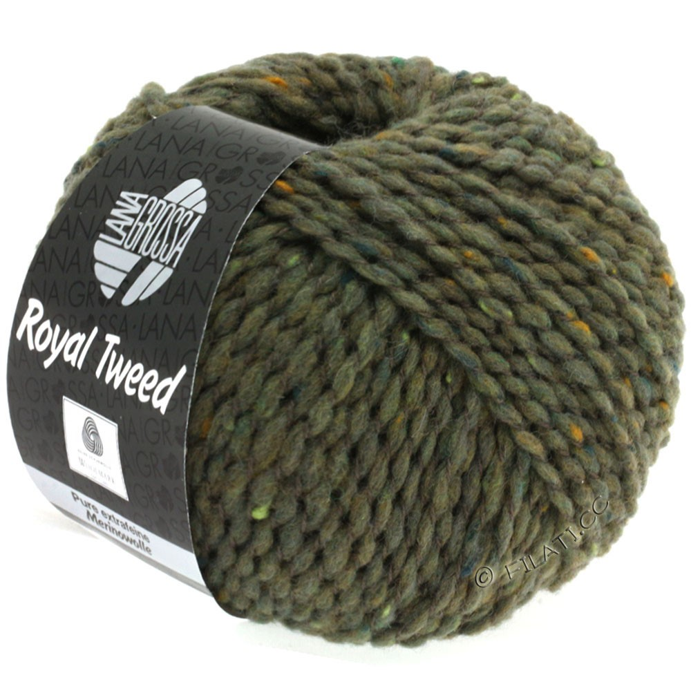 Lana Grossa ROYAL TWEED | 84-galet chiné