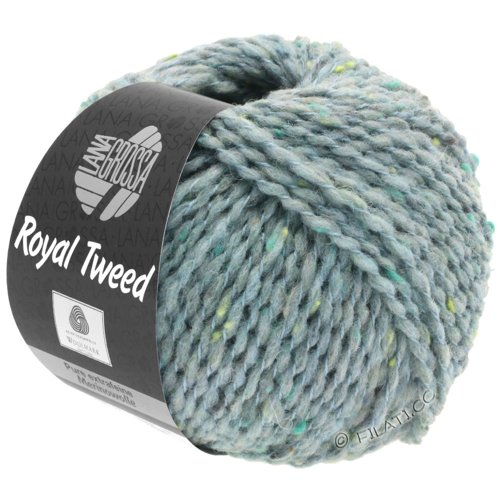 Lana Grossa ROYAL TWEED | 89-gris bleu chiné