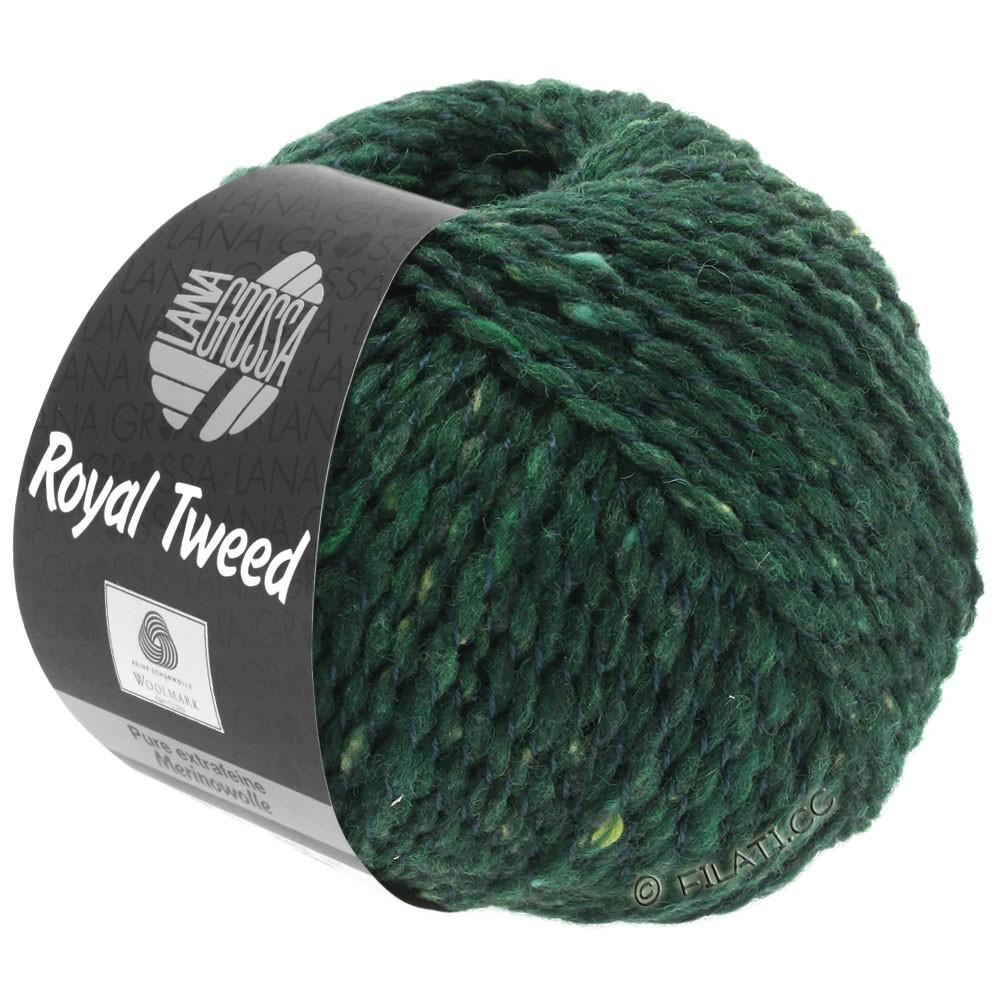 Lana Grossa ROYAL TWEED | 90-vert foncé chiné