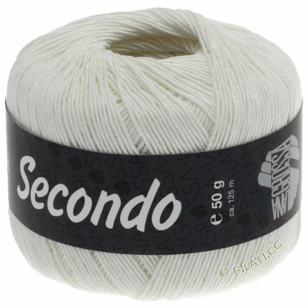 Lana Grossa SECONDO | 15-blanc