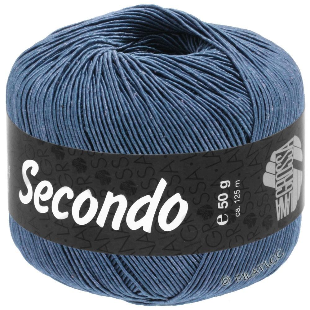 Lana Grossa SECONDO | 84-bleu acier