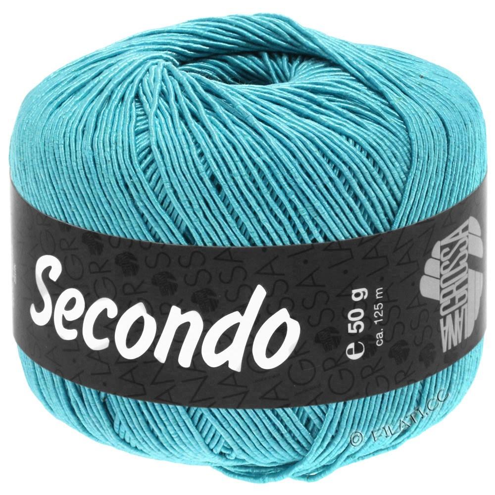 Lana Grossa SECONDO | 91-turquoise bleu