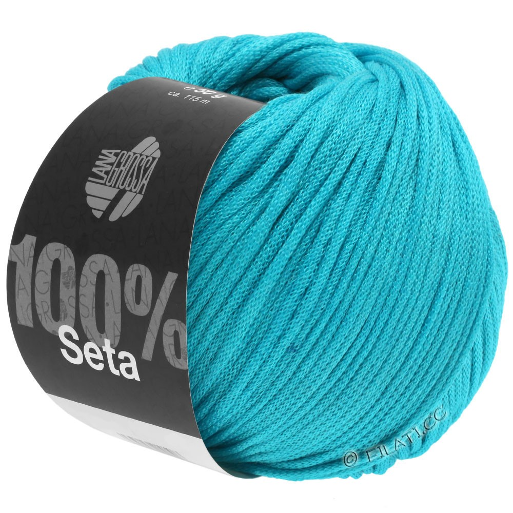 Lana Grossa SETA   18-turquoise