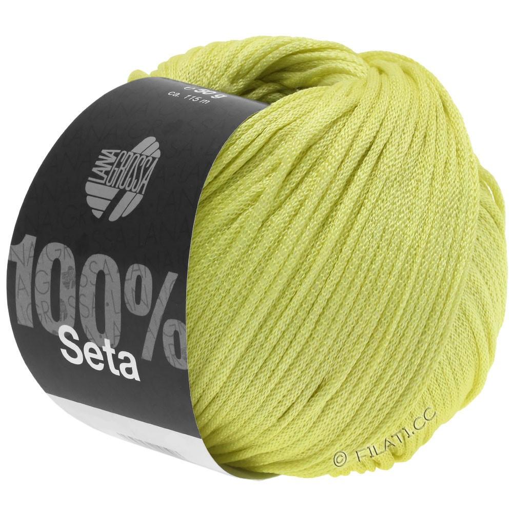 Lana Grossa SETA   21-jaune vert
