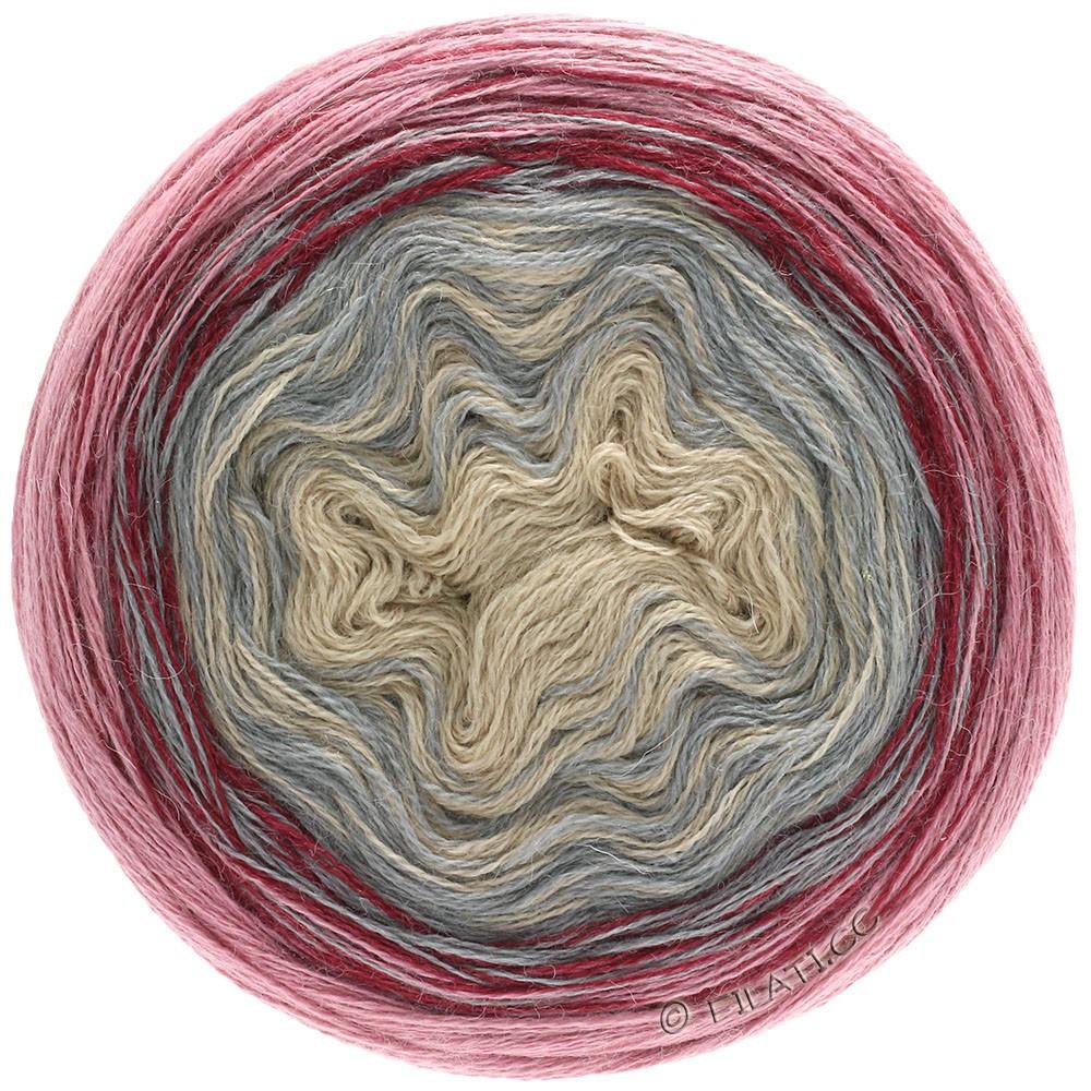 Lana Grossa SHADES OF ALPACA SILK | 302-beige/gris/bordeaux/vieux rose