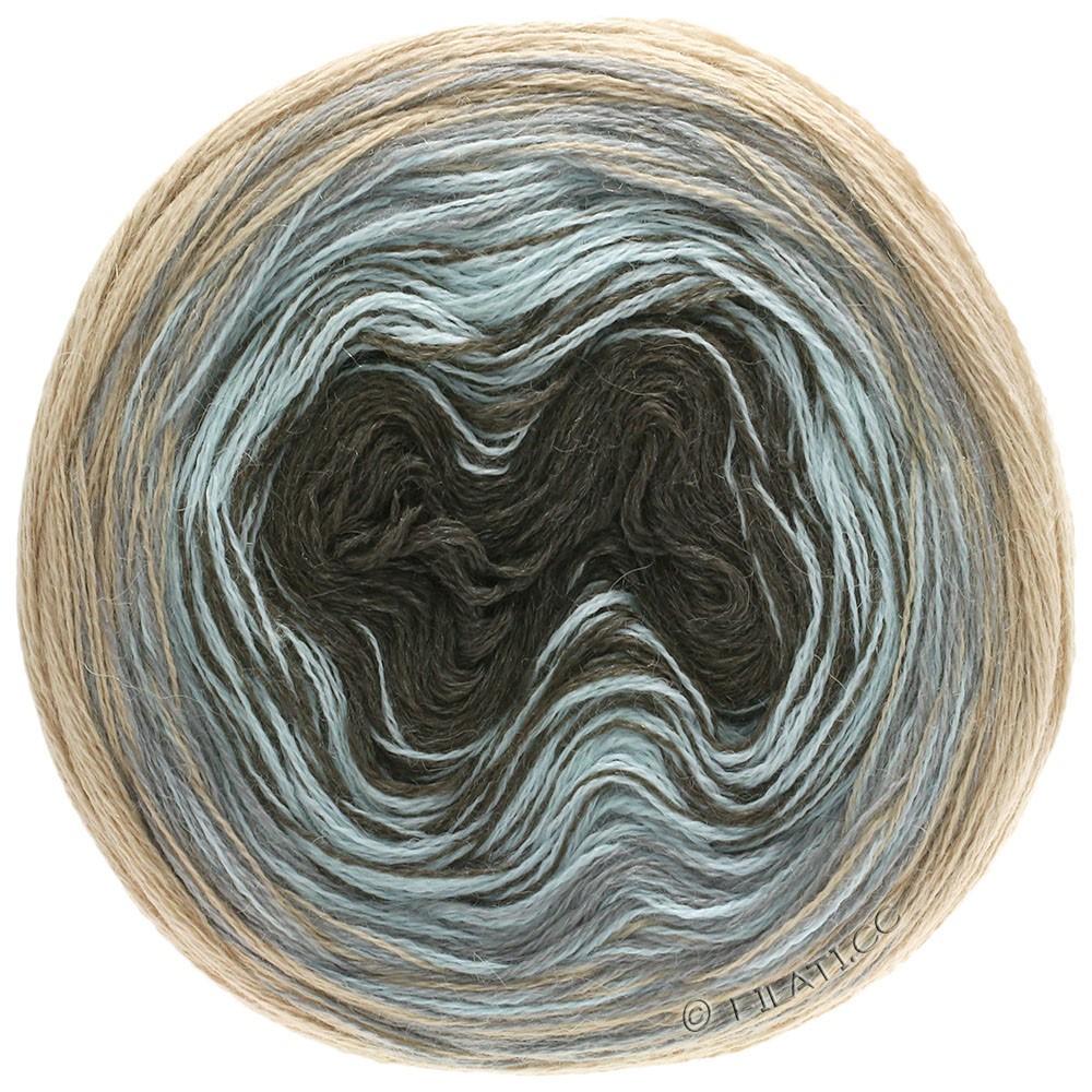 Lana Grossa SHADES OF ALPACA SILK | 304-beige/gris clair/bleu glace/moka