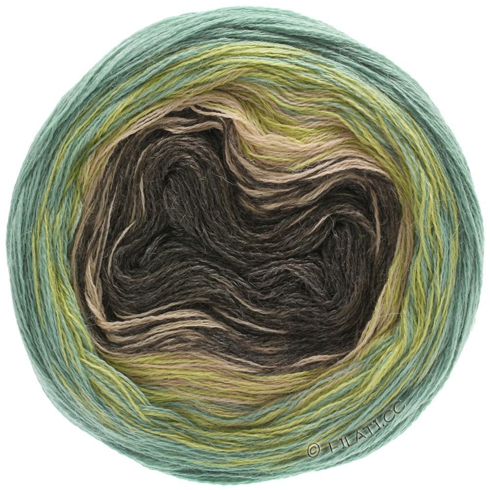 Lana Grossa SHADES OF ALPACA SILK | 305-moutarde/vert/beige/moka