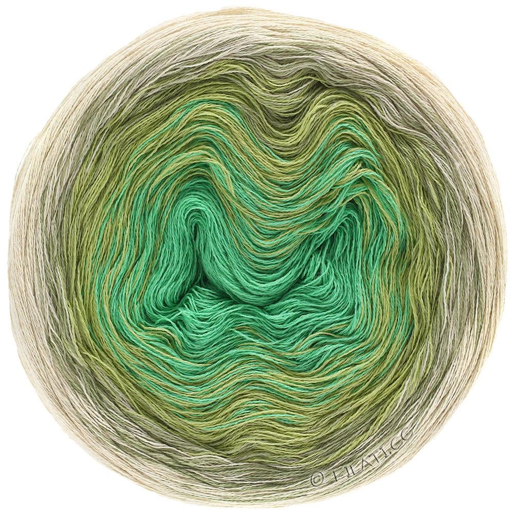 Lana Grossa SHADES OF COTTON LINEN | 706-nature/beige/vert roseau/jade