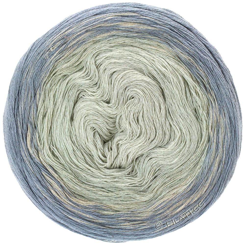Lana Grossa SHADES OF COTTON LINEN | 708-gris/gris clair/écru/nature