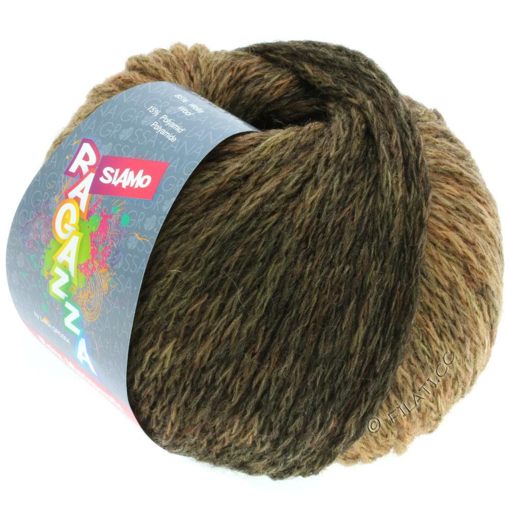 Lana Grossa SIAMO (Ragazza) | 11-chameau/moka chiné