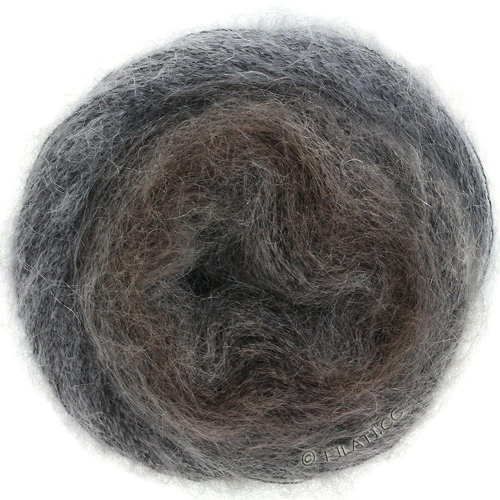 Lana Grossa SILKHAIR Degradé | 851-brun gris/taupe/gris foncé