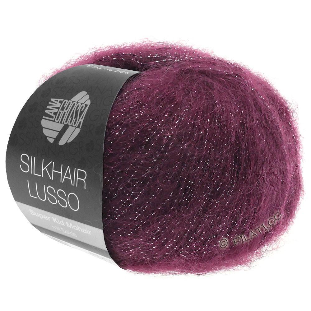 Lana Grossa SILKHAIR Lusso | 905-bourgogne