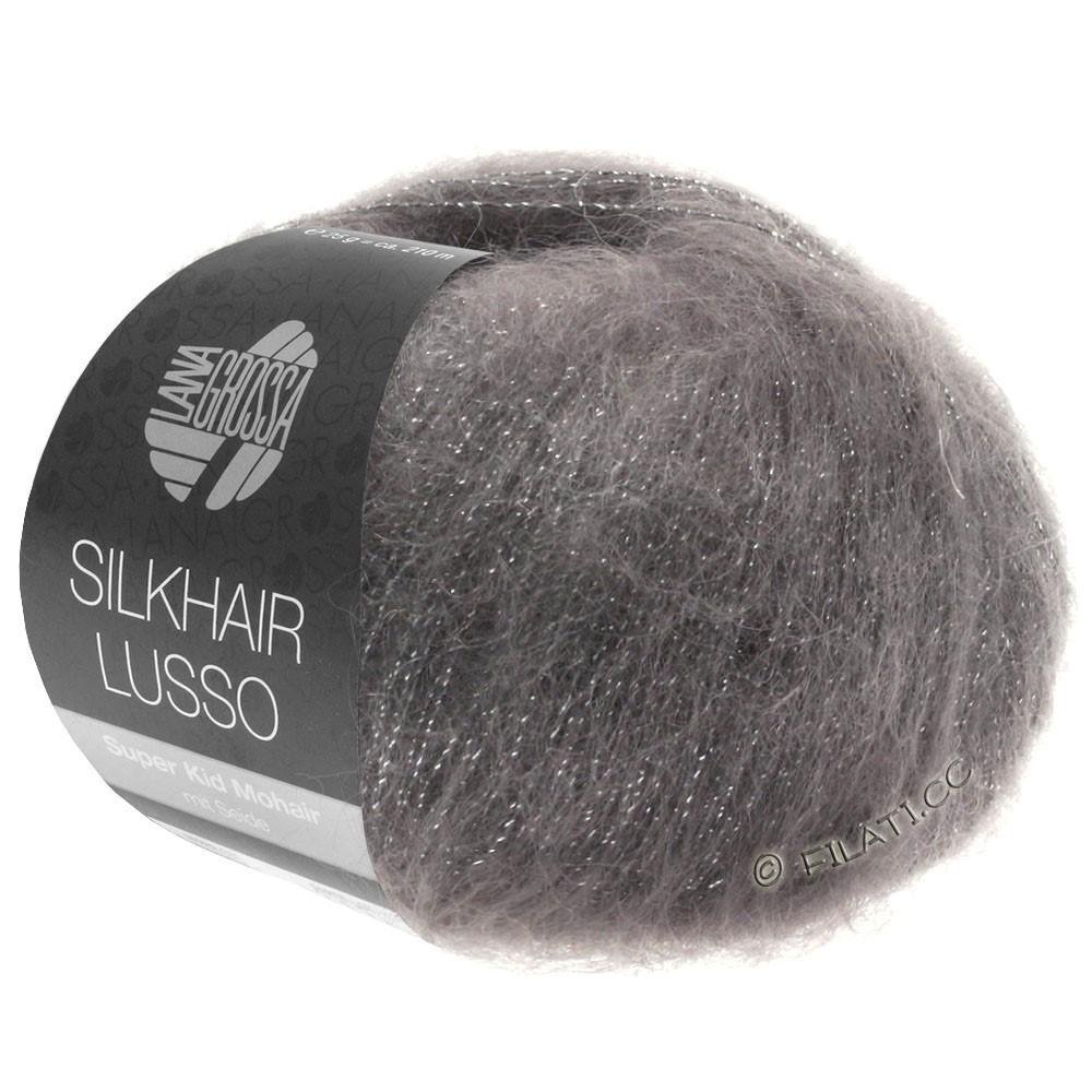 Lana Grossa SILKHAIR Lusso | 906-graphite