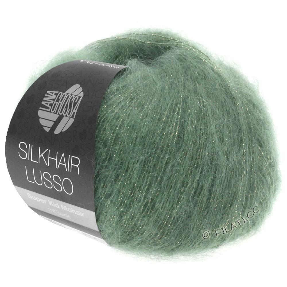 Lana Grossa SILKHAIR Lusso | 911-vert