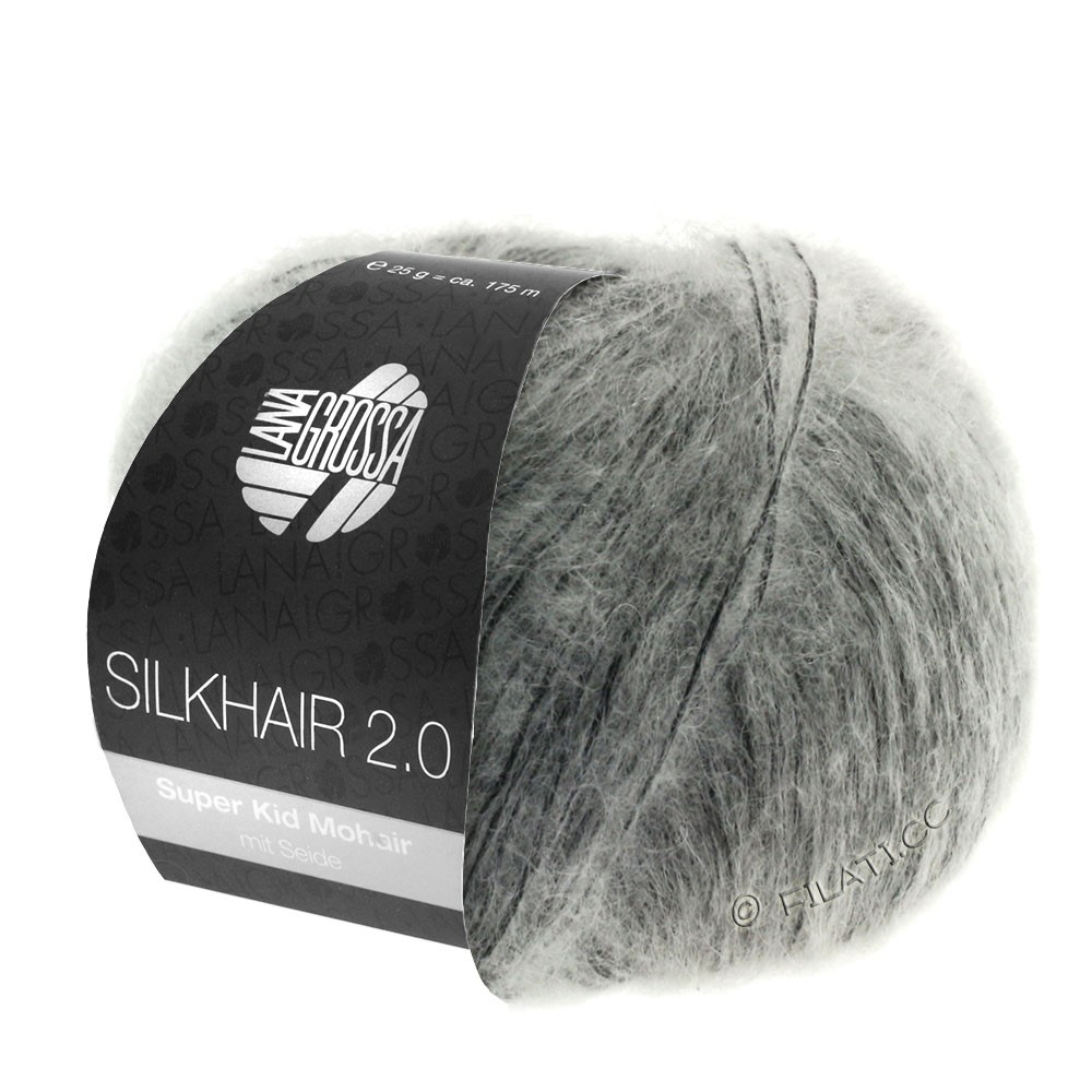 Lana Grossa SILKHAIR 2.0 | 02-gris