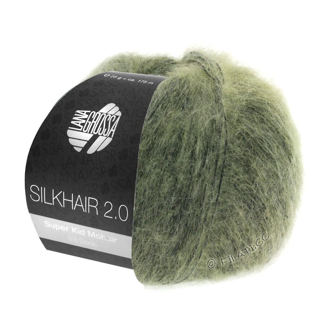 Lana Grossa SILKHAIR 2.0 | 04-gris vert