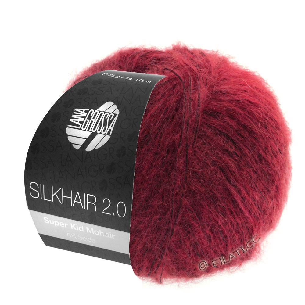 Lana Grossa SILKHAIR 2.0 | 07-rouge