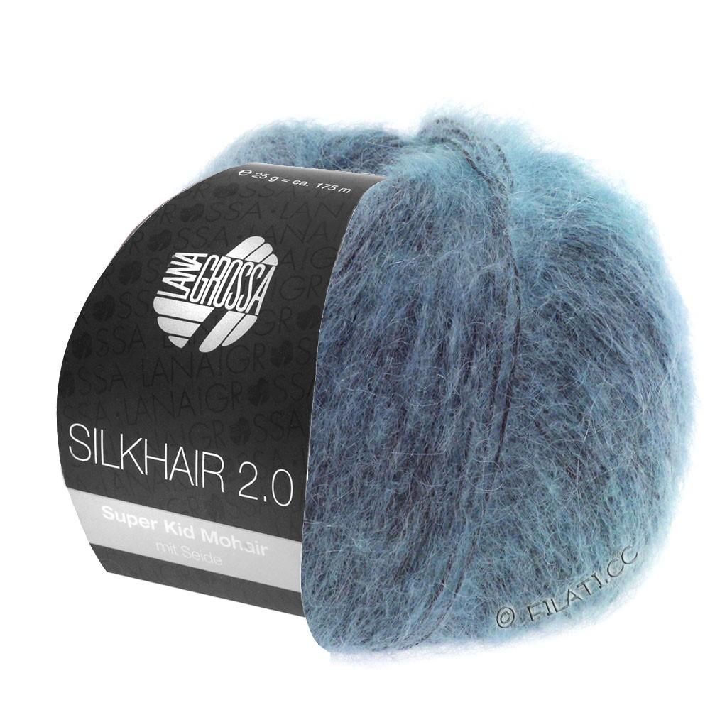 Lana Grossa SILKHAIR 2.0 | 10-bleu gris
