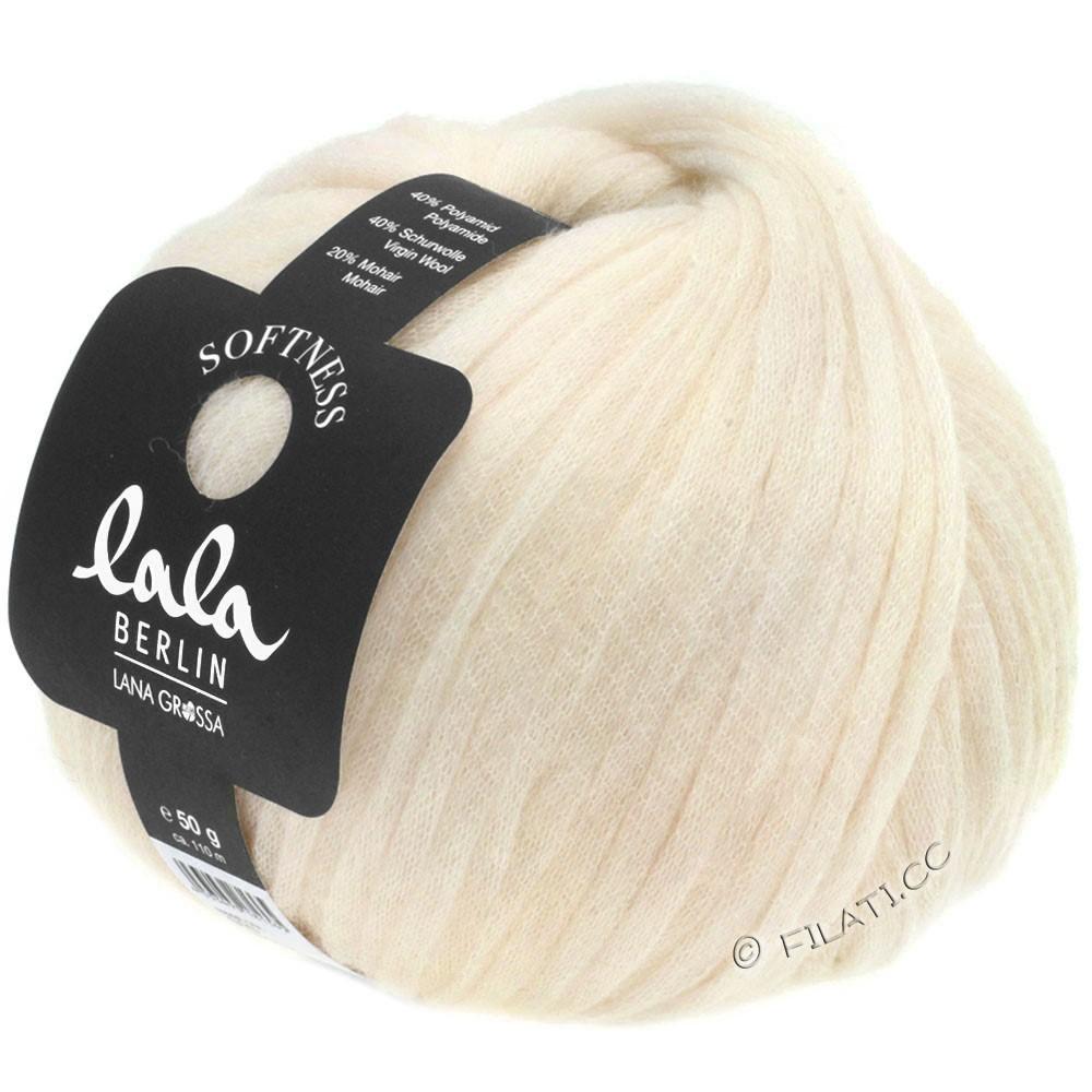 Lana Grossa SOFTNESS (lala BERLIN) | 15-ivoire clair